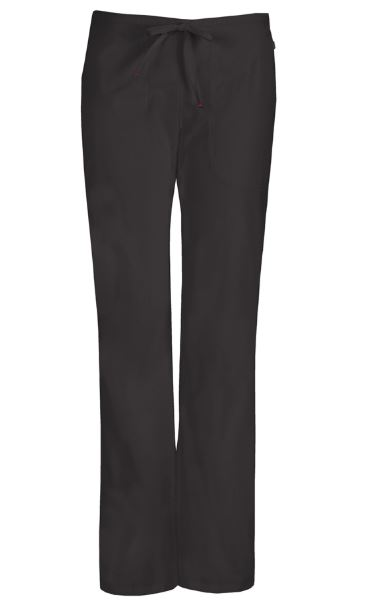Bliss Mid Rise Moderate Flare Drawstring Pant