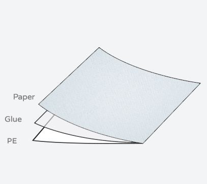 Recycle Paper, 19 in X 164 ft, 25