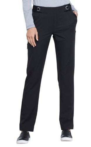 Pant, Mid Rise Tapered Leg Pull-On