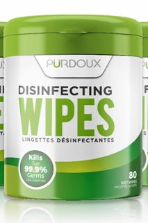 Disinfectant Wipes, 130