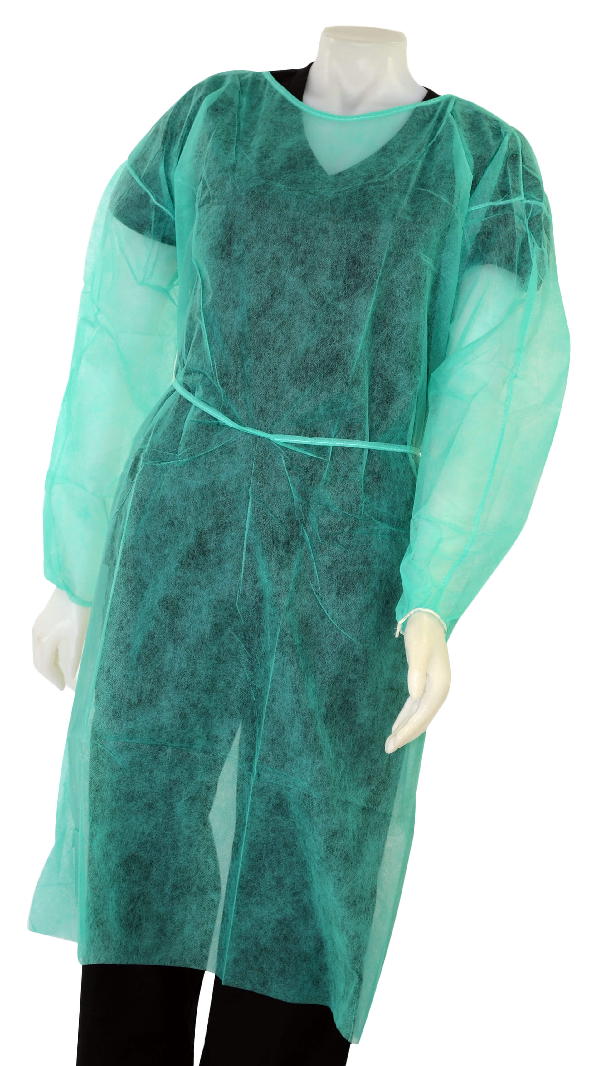 Isolation Gown with Elastic Cuffs